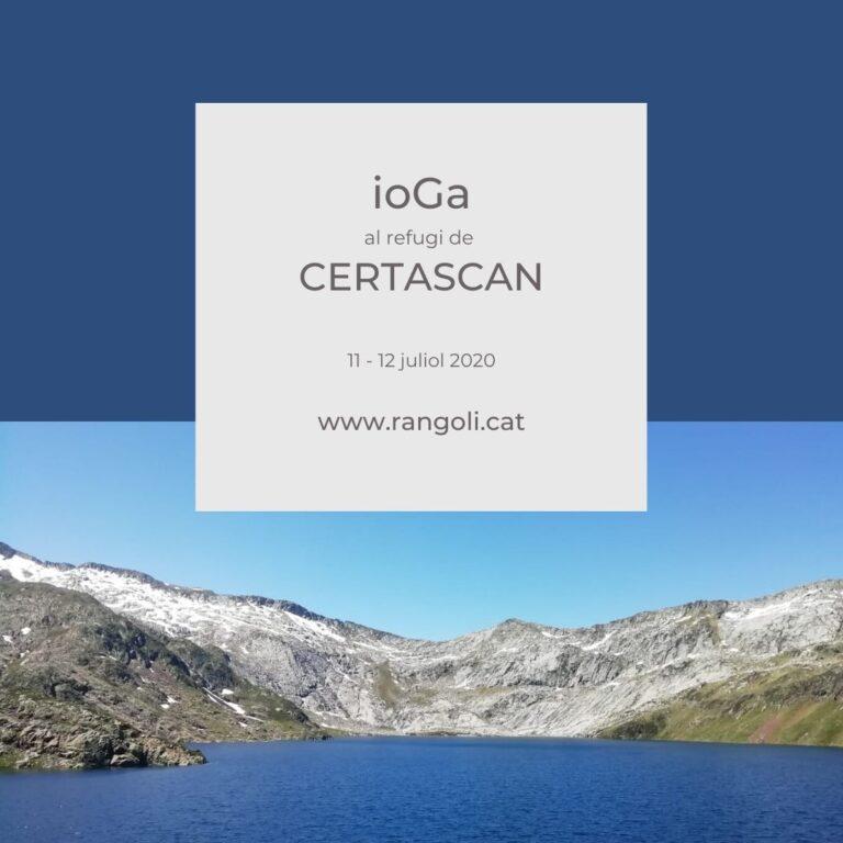ioGa al refugi de Certascan